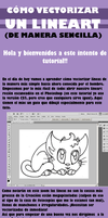 Tutorial Lineart Vectorizado by reynaruina