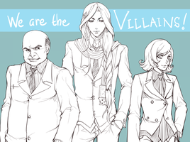 We're The Villains by Vediaz