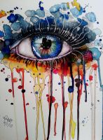 Splash Eye by Vondie