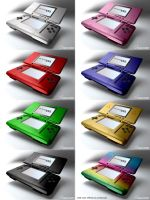 Nintendo DS colors. by jmdbcool