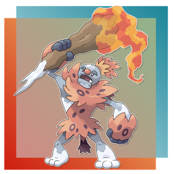 Bruthal, Arson Fakemon by FakeMakeT