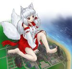 Tsukine plays with a city by AlloyRabbit