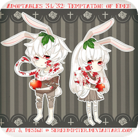 [CLOSED] Adoptables 31/32: Temptations of Eden by Staccatos