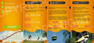 Advertising booklet by treconor