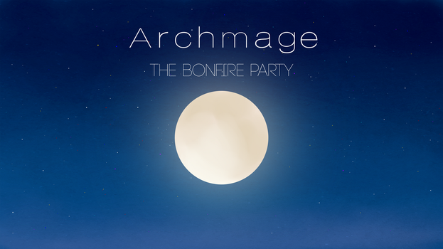 The Bonfire Party Single Official Wallpaper by archmagemusic