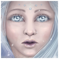 Winter Lady [Cropped Version] by Ametystical