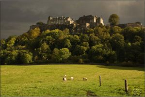 Stormy Stirling Castle by SnapperRod
