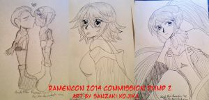 RamenCon 2014 Commission Dump 2 by kojika