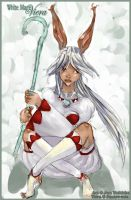 White mage Viera by Midnight-cat