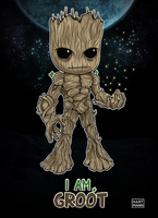 I Am Groot by mojomann