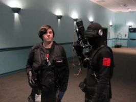2014 Sukoshi Con, Day 2 Snake Eyes and RE Soldier by AxelHonoo