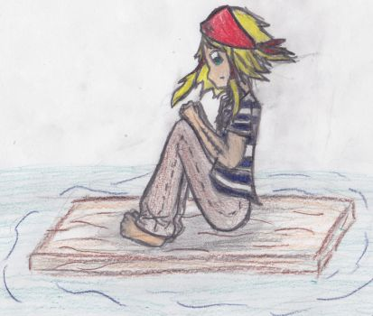 Pirate Lost at Sea by TheAnimeTheatre