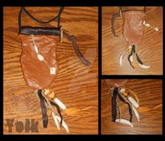 *NEW* Medicine Bag - Hunter Coyote (For Sale) by Shamans-Yoik