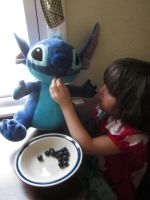 Blueberries for Stitch by onionhead1