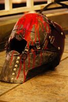 DWL - Red Man Helmet 01 by Karumaru