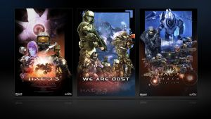 Halo Poster Pack by Halcylon