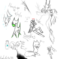 Doodles by ShadowHunter1765