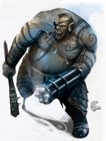 Orc soldier by shiprock