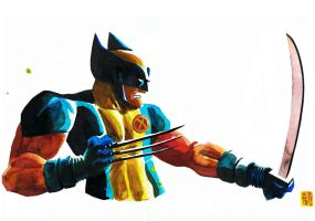 Comic Con 2012 - Wolverine by Geoffo-B