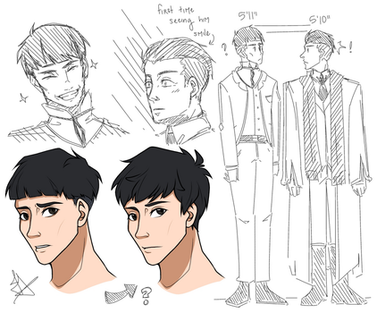 Credence sketches by Fayolinn