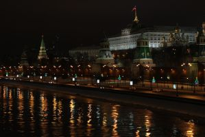 Moscow night by LifeFun