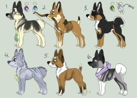 Dog Point Adoptables by toby21342