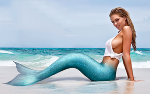 Kate Upton Mermaid by SeaFairy-Fantasies