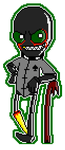 Jack Noirglish Pixel by XxxXel