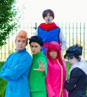 YYH: Spirit Detective Team by sunlitebreeze