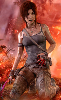 Lara Croft by 3SMJILL