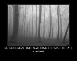Slender Man Likes... by Shadowfox247117