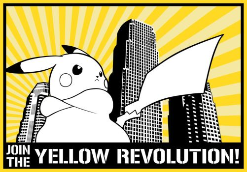 Join the Yellow Revolution! by Laitz