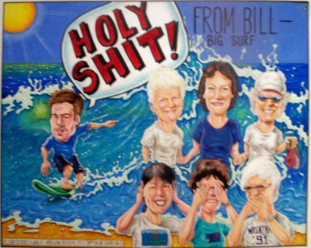 'Big Surf' caricature by ccobb1234