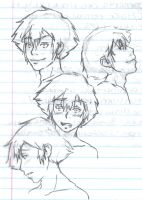Taichi Sketches by LadyLadyington
