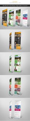 Premium Estate Banner Roll-up by hoanggiang12