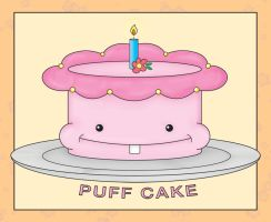 Puff Cake by squishypuff