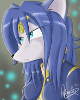 Krystal Mini-Speedpaint by JediAnnSolo