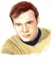 Captain Kirk by LauraMel