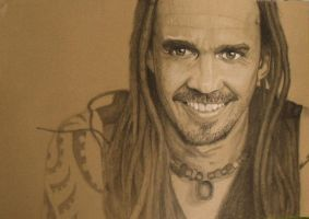 Michael Franti Portrait by JaikArt