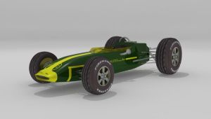 1960's Lotus Ford by Xpunk75
