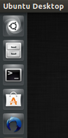 Screenshot Ubuntu 13.04 dock with Kawoken Icon by ivanymathias