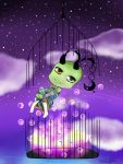 Bubbles In The Night Sky by Chocibunny