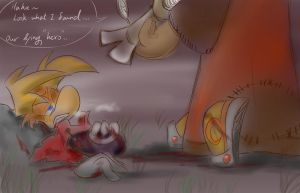 Rayman:No good... by amberday