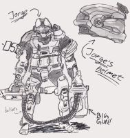 Jorge from Halo Reach by Iceey23