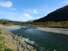 Vedder river trail 10/16/2015~5 by Matthew-Fuller