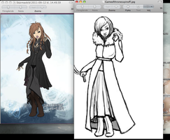 WIP Game of Thrones OC by anchsepaisis