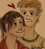 L4D2 Zoey and Ellis Luv by Lea007