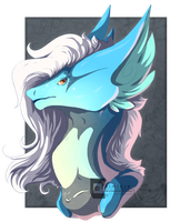 Zentok bust by Chimiere