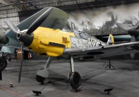 Messerschmitt Bf 109 Black 12 by rlkitterman