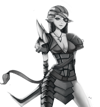 Female rengar by neoRaze